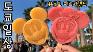 일본 도쿄 브이로그 추석특집 도쿄 디즈니랜드   미키마…