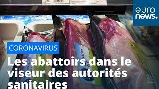 France : des salariés de trois abattoirs massivement contaminés par le Covid-19