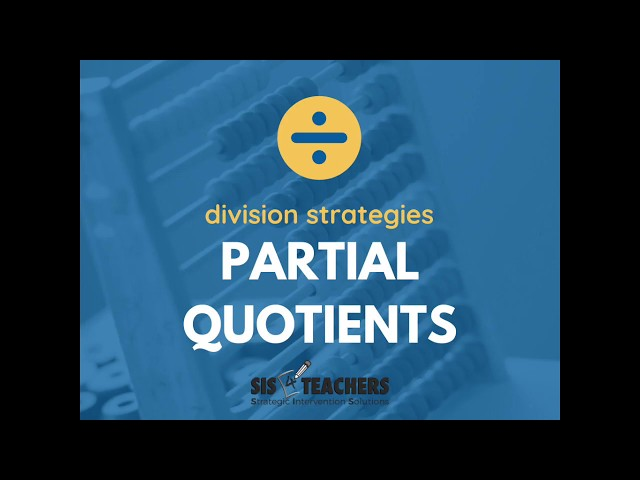 Partial Quotients