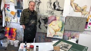 """BobBlast 247 - """"Working with Charcoal and Pastels."""""""