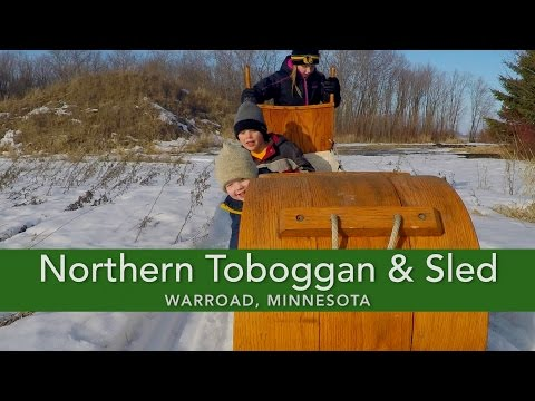 Northern Toboggan and Sled