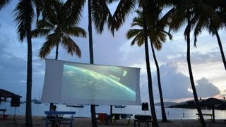 Honeymoon Beach Movie Night - Water Island, US Virgin Islands