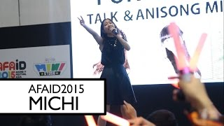 Download AFAID 2015 - MICHI - Cry for the Truth - LIVE - FANCAM