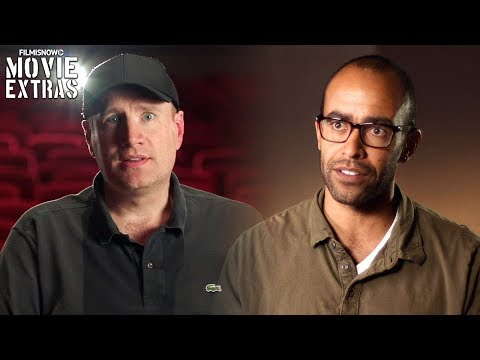 Black Panther  Onset visit with Kevin Feige & Nate Moore