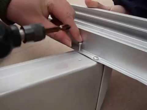 Doppelstegplatten verlegen doovi - Montage d un carport ...