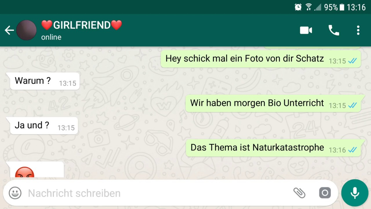 Lustige Chats Deutsch