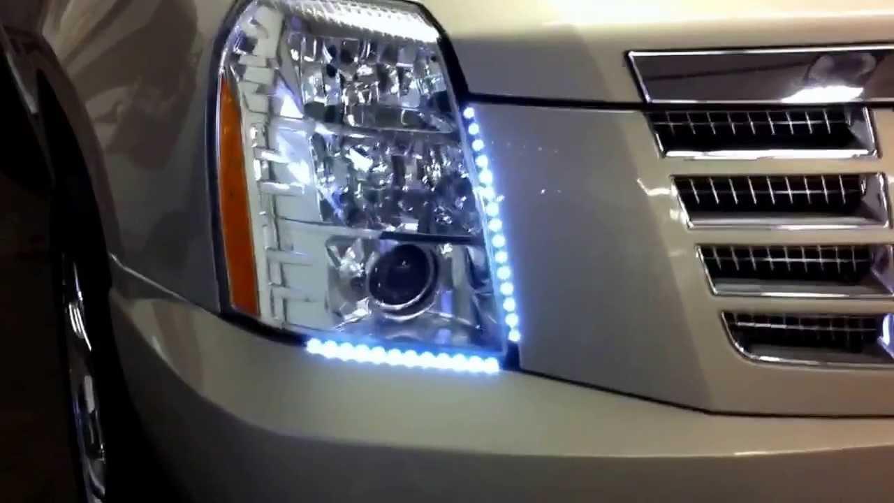led driving lights drl from 2007. Black Bedroom Furniture Sets. Home Design Ideas