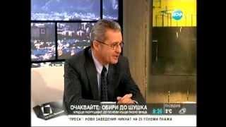 """Разговор с Йордан Цонев- Нова ТВ, """"Здравей, България"""""""
