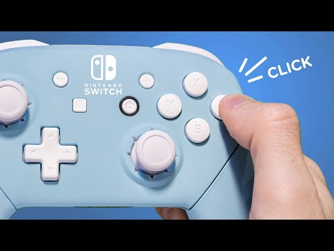 I made the Nintendo Switch Pro Controller - ̗̀ CLICKIER  ̖́-