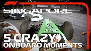 5 Crazy Onboards | Singapore Grand Prix