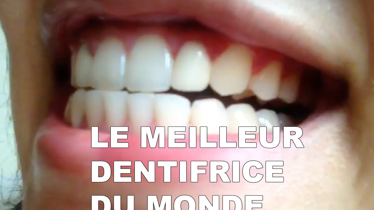 dentifrice blanchissant efficace