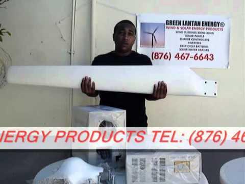 GO GREEN JAMAICA! DIY RENEWABLE POWER WIND TURBINES AND SOLAR ENERGY SYSTEMS (PART 2)