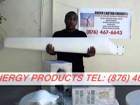 GO GREEN JAMAICA! DIY RENEWABLE POWER WIND TURBINES AND SOLAR ENERGY SYSTEMS (PART 2)