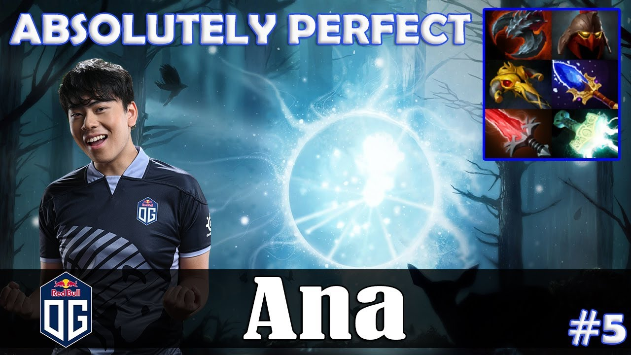 Ana – IO MID   ABSOLUTELY PERFECT   NERF Patch   Dota 2 Pro PUB Gameplay #5