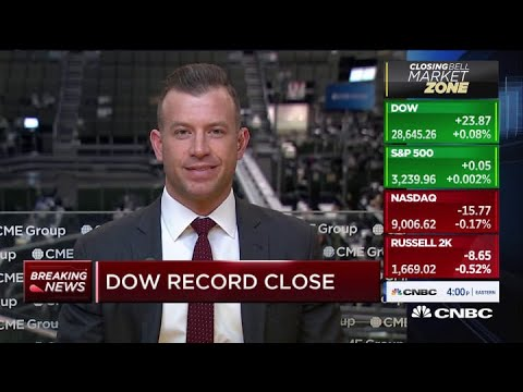 Dow and S&P 500 close at fresh record highs