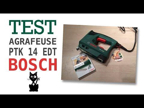 Видео обзор: Степлер / гвоздезабиватель BOSCH PTK 14 EDT