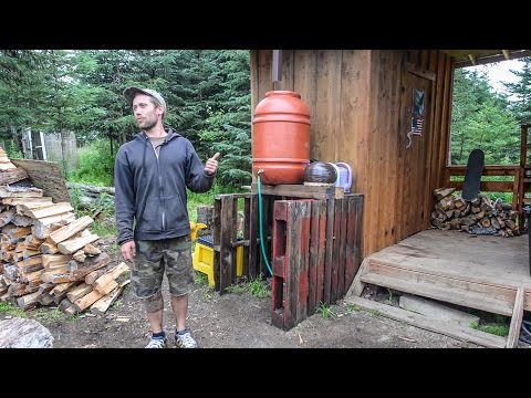 Off The Grid Tiny Home In Alaska ~ Organic & Sustainable Rem