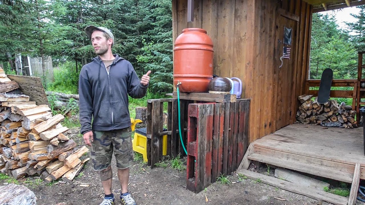 Off The Grid Tiny Home In Alaska Organic Sustainable