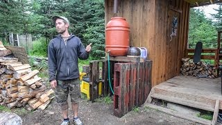 Off The Grid Tiny Home In Alaska ~ Organic & Sustainable Remote Farm Tour thumbnail
