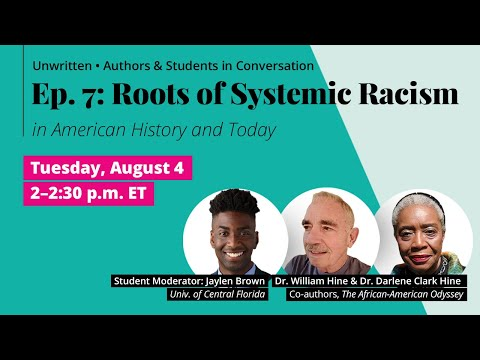 Pearson Presents: Unwritten Ep 7. Roots Of Systemic Racism