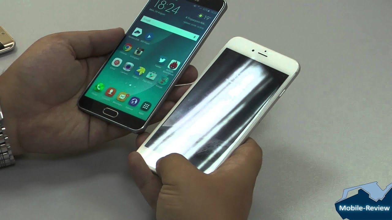 Mobile-review com Обзор фаблета Samsung Galaxy Note 5