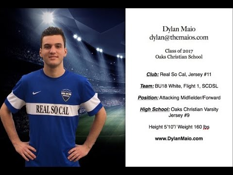 Dylan Maio 2018 Soccer College Recruiting Video