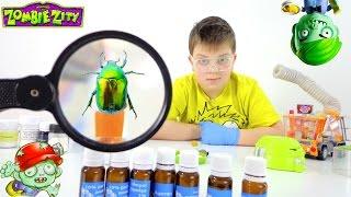Монстры! Жук - зомби! Опыт от ИгроБоя Тимура. Видео для детей.