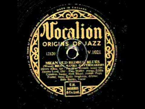 Mean old bedbug Blues on 78 rpm