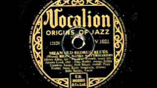 Mean old bedbug Blues on 78 rpm