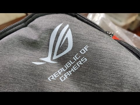 Asus ROG Gaming Backpack Unwrapped Review