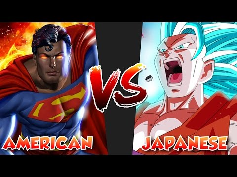 American vs Japanese Version Battles