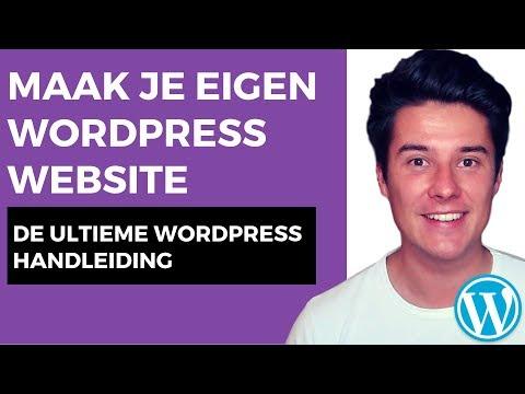 WordPress website maken 2019 | Elementor | WordPress handleiding