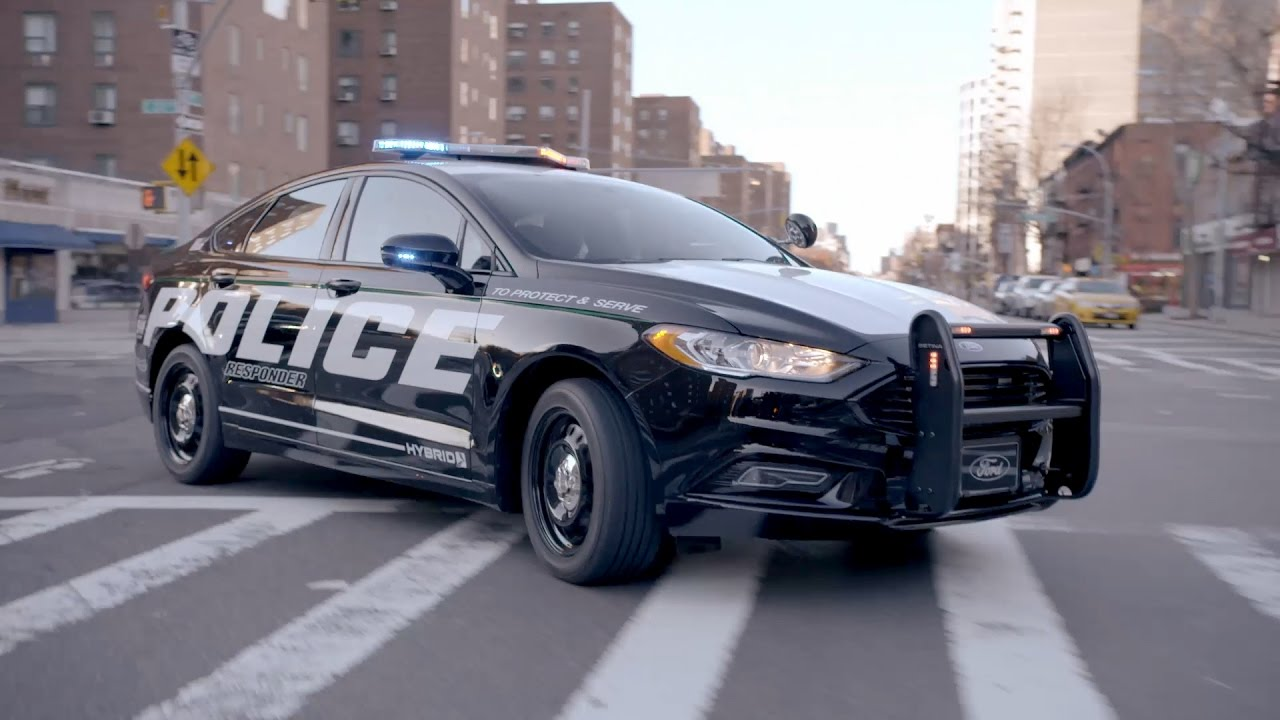 ford police responder hybrid sedan youtube