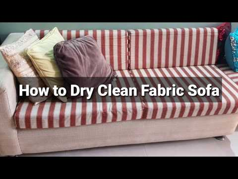 How to clean Febric sofa and dining chairs|DRY-CLEANING  METHOD|cleaning for diwali|cleaning video