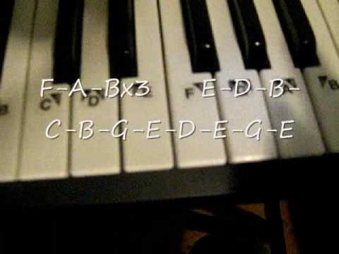 Piano piano tabs song of storms : Lost Woods Piano Tutorial - YouTube