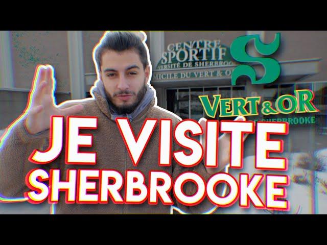 JE VISITE UNE UNIVERSITÉ AU CANADA 🇨🇦 - SHERBROOKE