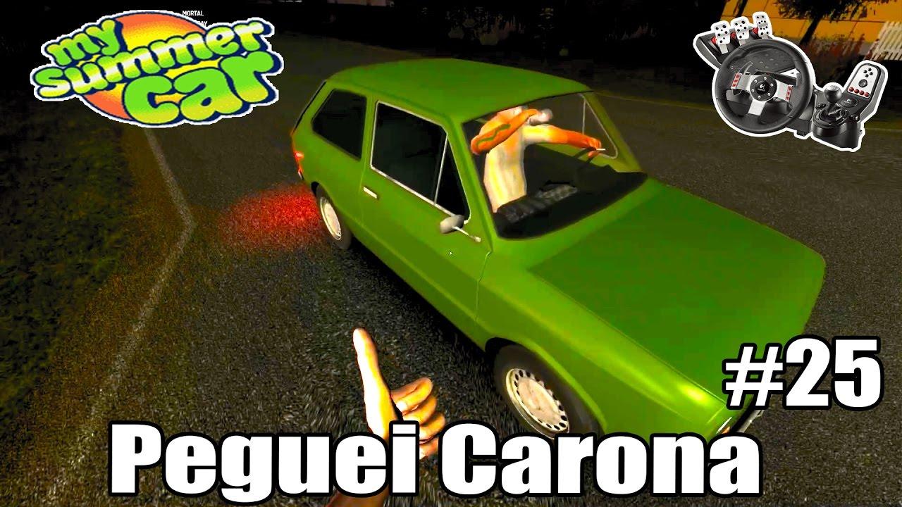 My Summer Car - Acabou o combustível, Peguei carona com o carro