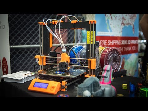 Prusa i3 3D Printer Upgrade Prints 4 Colors!