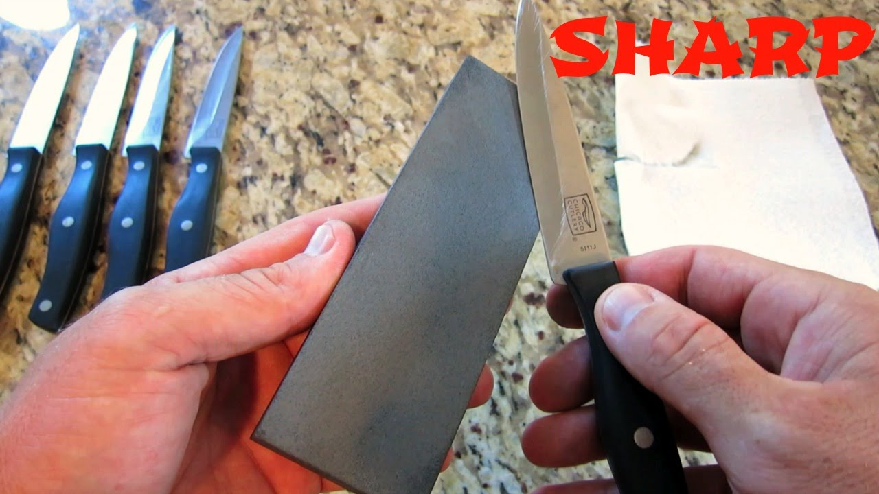 HOW TO SHARPEN KITCHEN KNIVES FOR COOKING NOW THAT S A