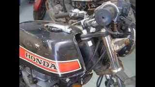 Honda CB400N Restoration Project Running BozBengBikes Breaking Other Bikes North Somerset