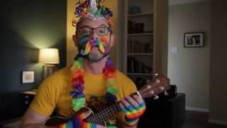 Space Unicorn fan video - ukulele cover