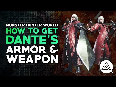 How to Get Dante's Armor & Weapon | Monster Hunter World