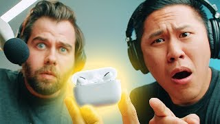 APPLE AIRPODS PRO: 2 Professional Audio Engineers Trying Them For the First Time