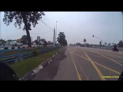 Day 5 -  Batu Pahat to Melaka (2x speed)