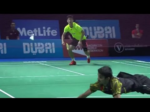 Chen Long v K. Srikanth |MS| Day 4 Match 5 - BWF Destination Dubai 2014