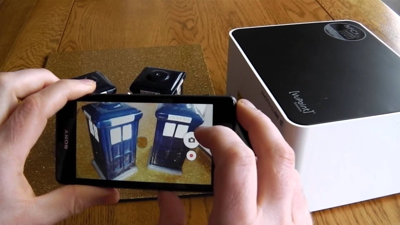Vupoint P100 Photo Cube Printer Review Youtube