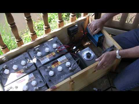 Pond water Aeration How To build a solar battery box Missouri Wind and Solar