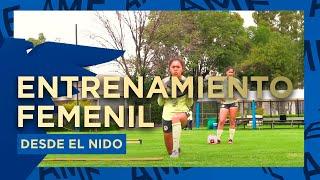 Entrenamiento En El Nido - Club América Femenil