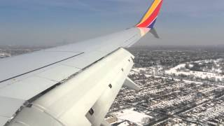 Southwest Airlines Landing in Chicago Midway