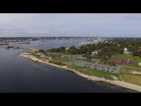Drone Video of New Bedford, MA